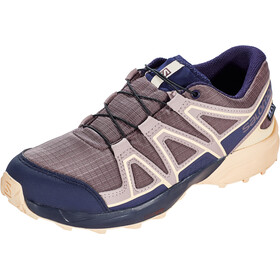 Salomon Speedcross CSWP Shoes Kinder flint/evening blue/bellini